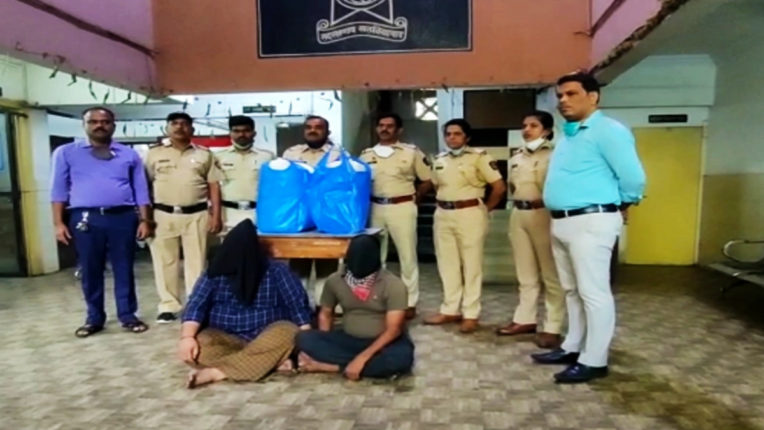 Police 'Operation Clean' Against Drugs Peddlers, Arrests Two With 25kg ganja