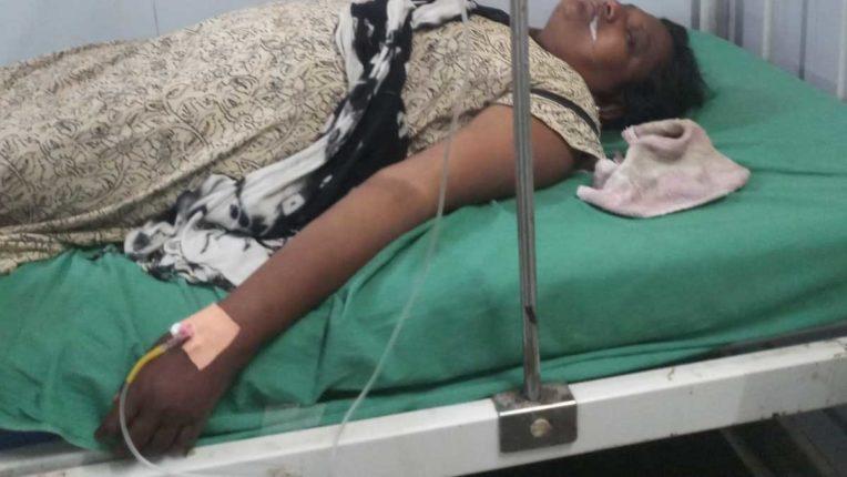तोड़ू कार्रवाई से नाराज महिला ने किया आत्महत्या का प्रयास