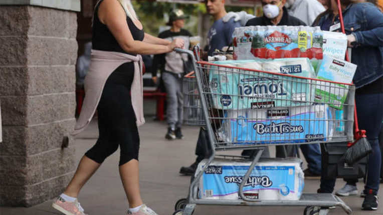 Increased purchase of toilet paper again in the US amid rising cases of corona, shops are setting limits