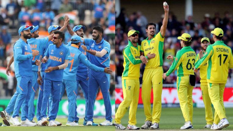 India vs Australia, Cricket 01