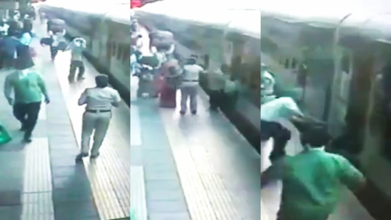 How a life was saved at Kalyan railway station, watch
