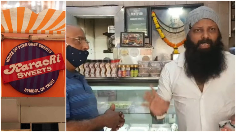 Seeing 'Karachi' in the name of the sweet shop, the Shiv Sena leader, said- 'I hate this name, change it'