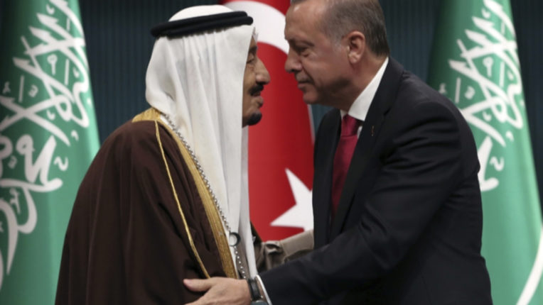 Talks between the President of Turkey and the King of Saudi before the G-20 conference, discussed the relationship between the two countries