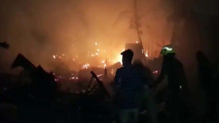 Kolkata Houses Fire