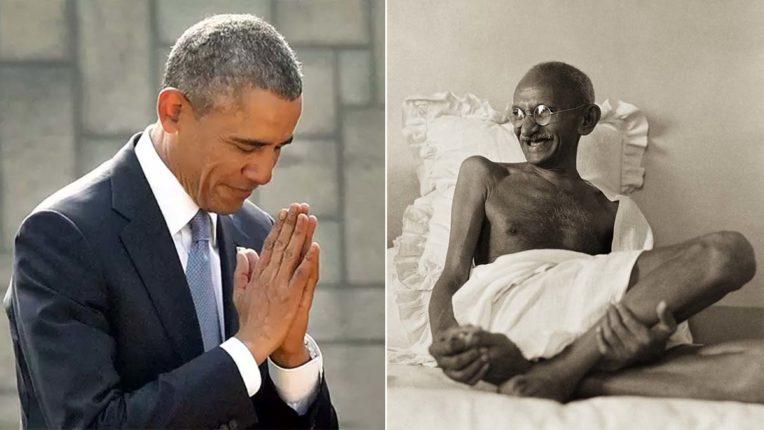 भारत के प्रति मेरे आकर्षण की प्रमुख वजह महात्मा गांधी : बराक ओबामा