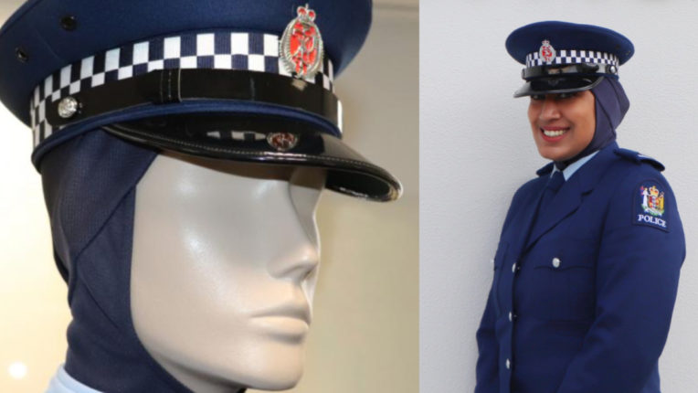 New Zealand included hijab in uniform to encourage Muslim women into police service