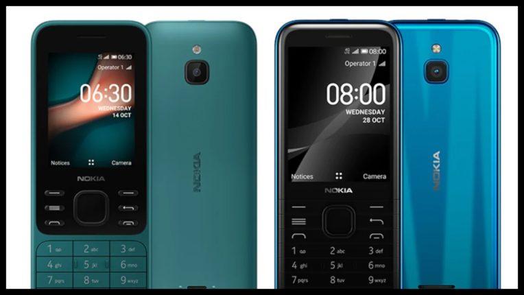 Nokia 8000 4G और Nokia 6300 4G फीचर फोन हुए लॉन्च, जानें स्पेसिफिकेशन्स और कीमत