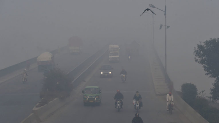 Pakistan's Lahore is the world's most polluted city: US Air Quality Index