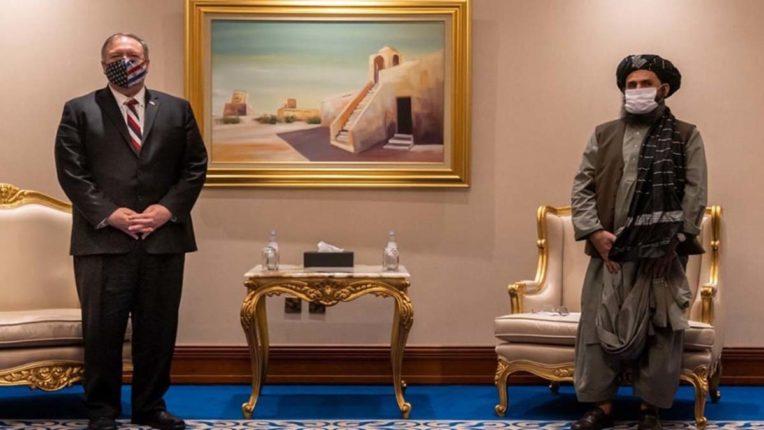 पोम्पिओ ने की दोहा में तालिबान, अफगान वार्ताकारों से मुलाकात
