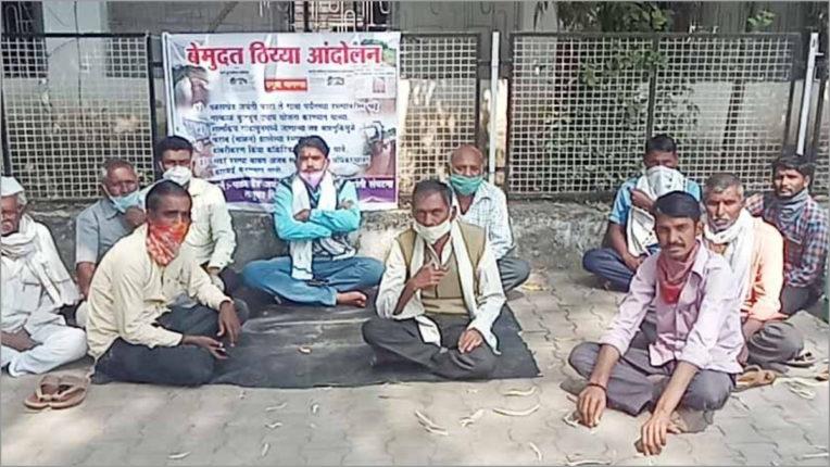 Rayat Kranti Sangathan agitated for the demand of the way