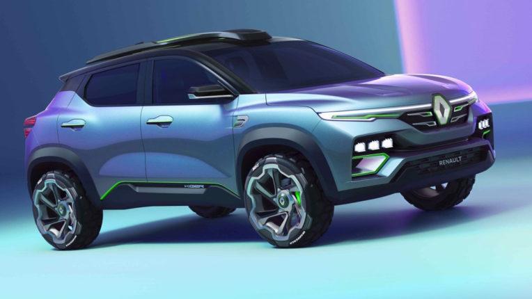 Renault Kiger आई सामने, अब जल्द होगी लॉन्च