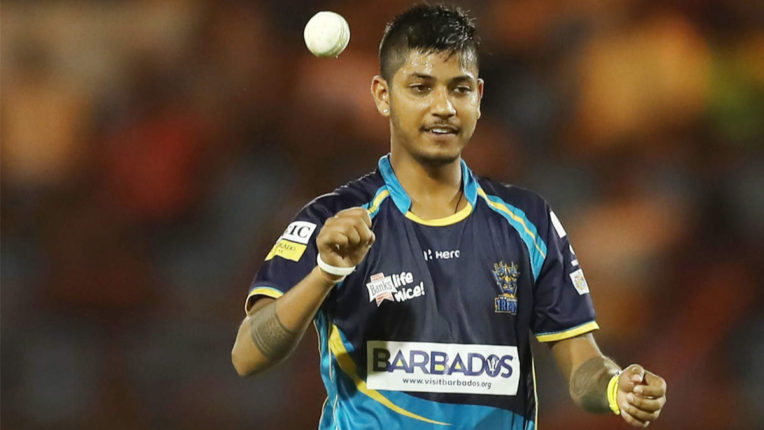 Spinner Sandeep Lamichhane was found to be Corona positive