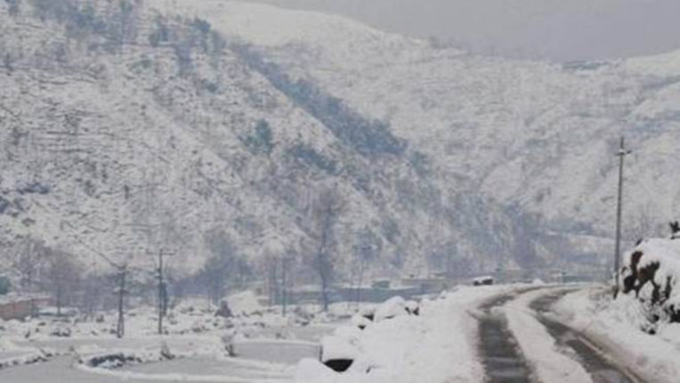 Snowfall in higher reaches of Ladakh and Jammu and Kashmir, rain in lower areas