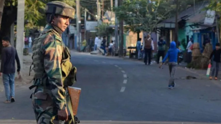 Tension on Assam-Mizoram Border