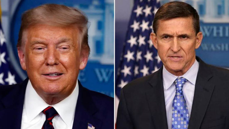 Trump pardoned former NSA Michael Flynn for making false statements about 2016 presidential election