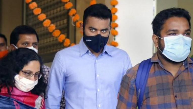ED questioning Shiv Sena MLA Pratap Sarnaik's son Vihang again