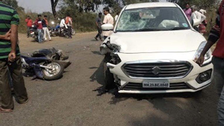 तिवसा के पास दुर्घटना, एक गंभीर रूप से घायल
