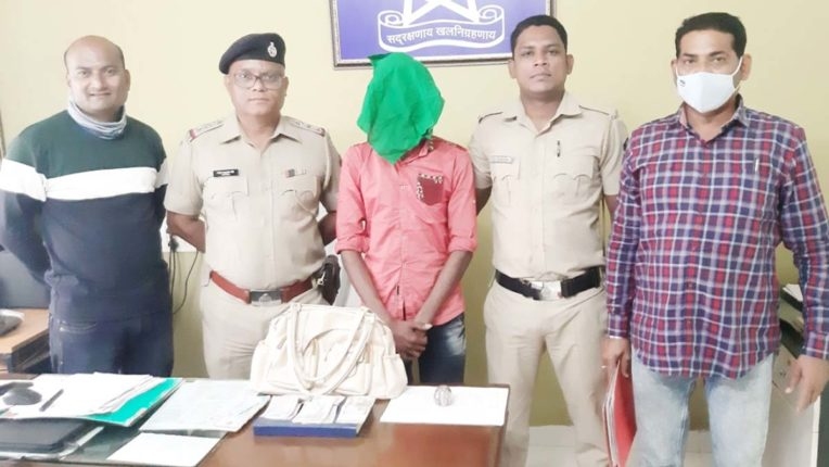 चार शातीर चोर गिरफ्तार