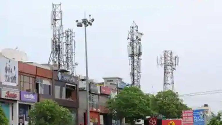 एयरटेल कंपनी के मोबाइल टॉवर पर औरंगाबाद मनपा की कार्रवाई