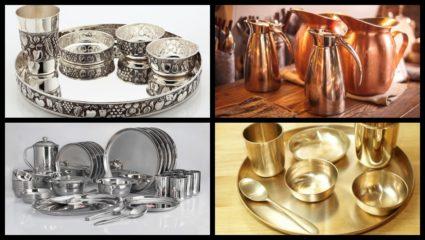 दीपावली में खरीद रहे हैं बर्तन तो ध्यान रखें धातुओं का, रहेंगे सेहतमंद