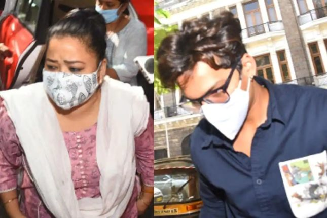 Two NCB officers suspended, Bharti Singh, Harsha and Karishma were absent during the bail hearing