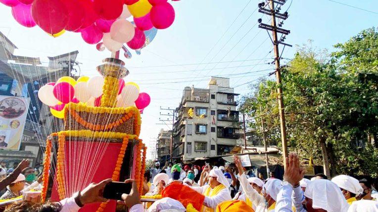 प्रकाश पर्व गुरु गोबिंद सिंह चौक का उद्घाटन