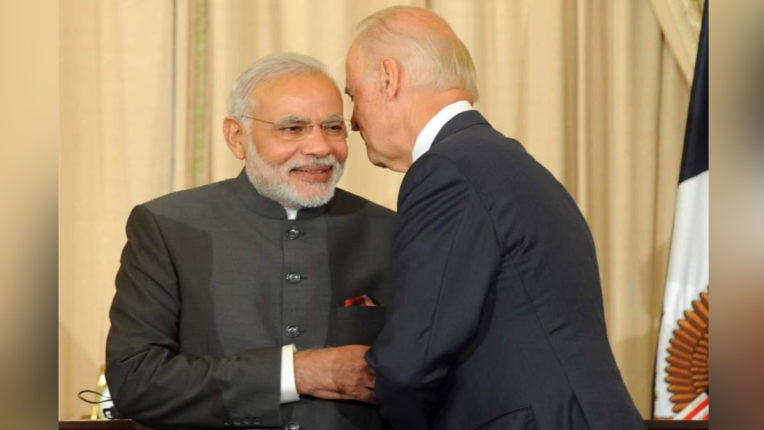 Prime Minister Narendra Modi spoke on the phone of the newly elected President of America, Joe Biden, discussed many issues