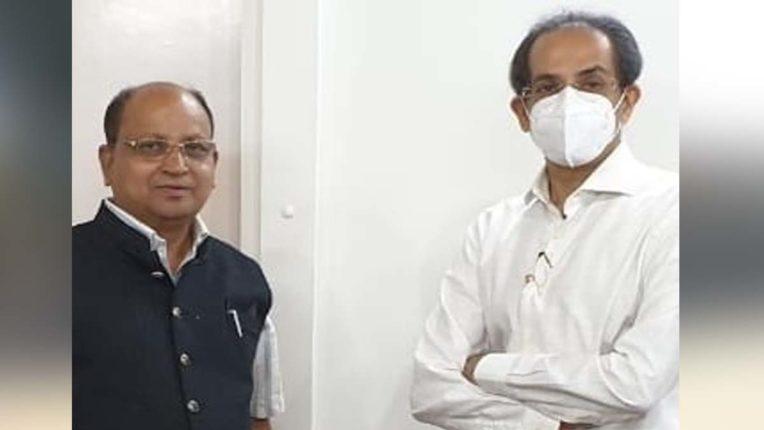 मुख्यमंत्री से मिले तिवारी, रखा किसानों की आय दोगुनी करने का प्रस्ताव