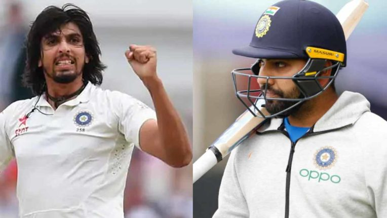 भारत को तगड़ा झटका, टेस्ट मैचों से बाहर रोहित और ईशांत शर्मा