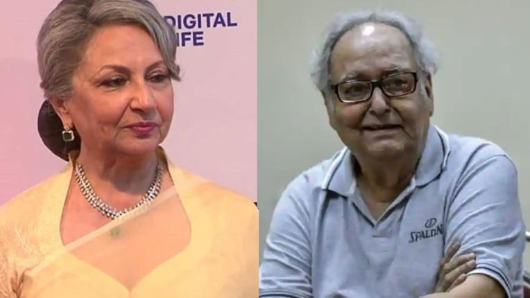 sharmila-tagore-express-grief-on-the-demise-of-soumitra-chatterjee