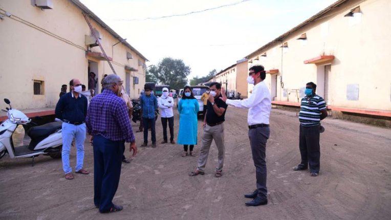 शिक्षक निर्वाचन क्षेत्र के मतगणना केंद्र का किया निरीक्षण