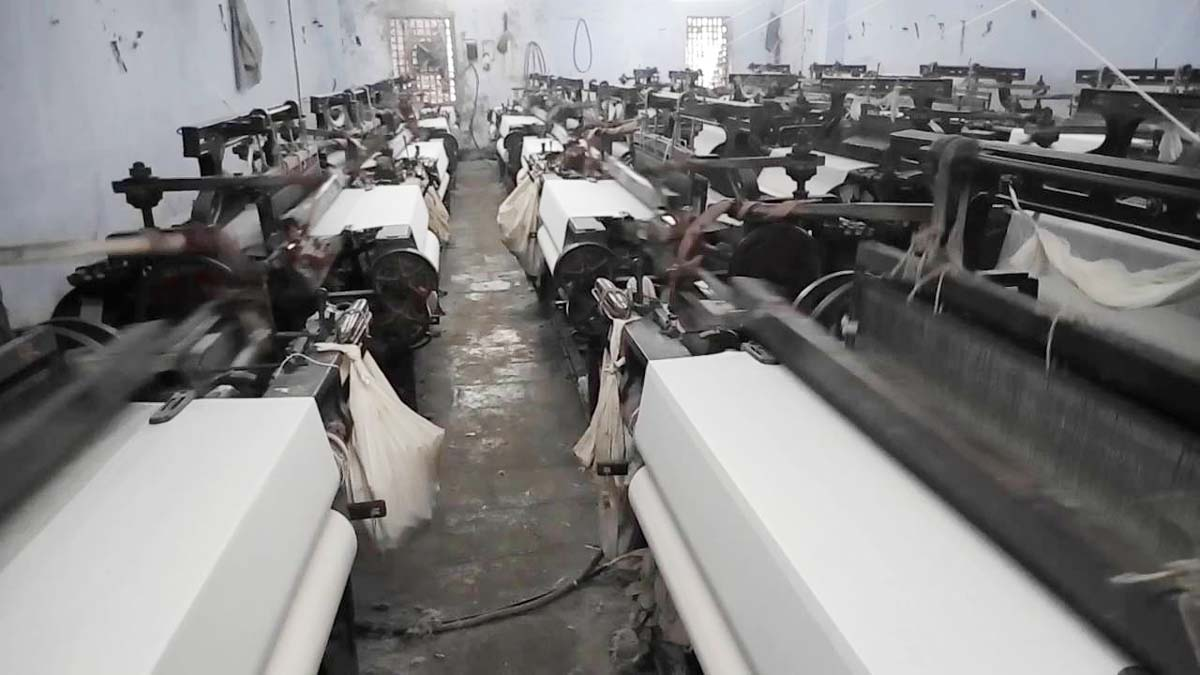 A virus pushed the world textile Manchester Bhiwandi back many years labour