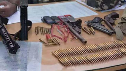 सुरक्षा बलों ने नक्सलियों द्वारा जमीन में दबाये हथियार और गोलाबारूद किए बरामद