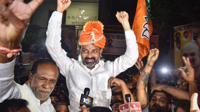 BJP Celebration GHMC Election