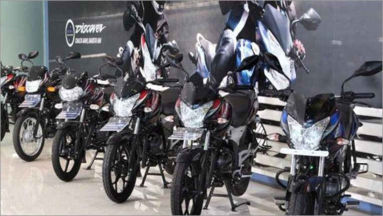 Bajaj Auto sales up 5 percent in November at 4,22,240 units