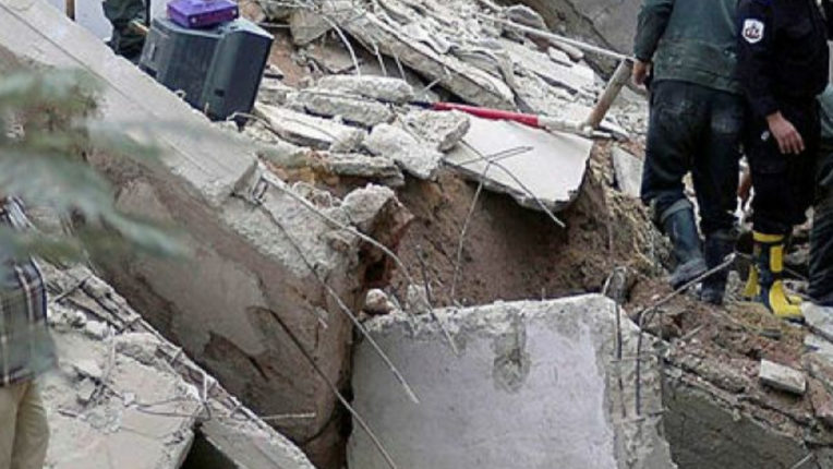Building collapsed in Egypt, five people died