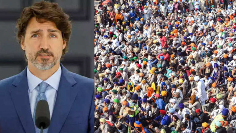 Canadian PM speaks up on Indian farmers protests, said - will always defend the right to peaceful demonstrations