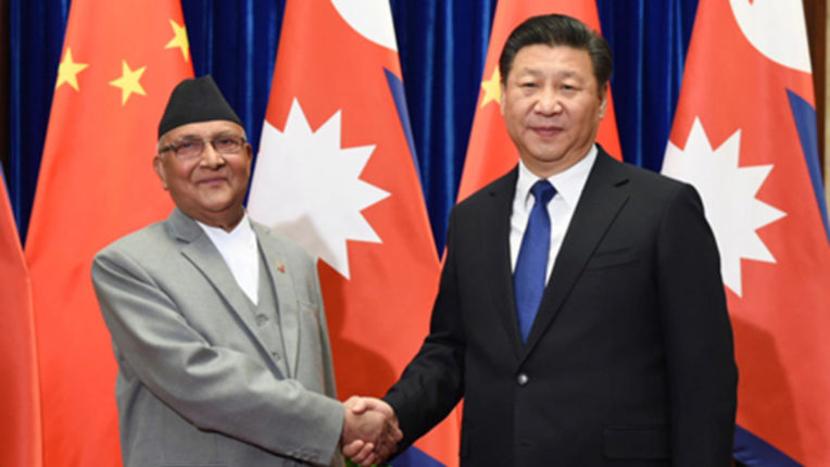 China engaged in strengthening relations with Nepal, said on Everest's imprint - 'Milestone for relations'