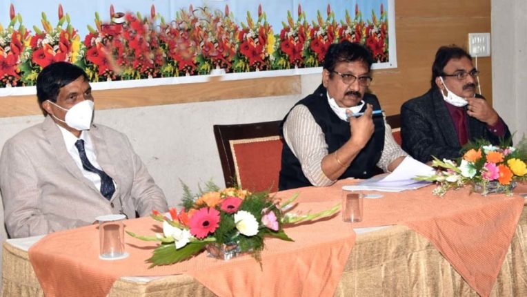 Forest Minister reviewed works