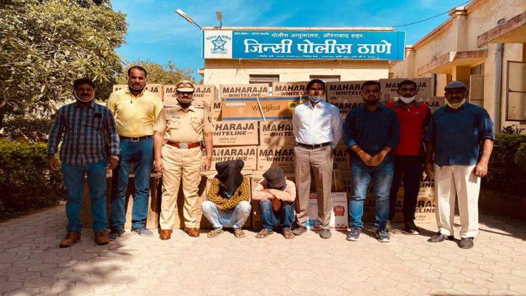 गुजरात में चोरी करने वाली टोली का पर्दाफाश