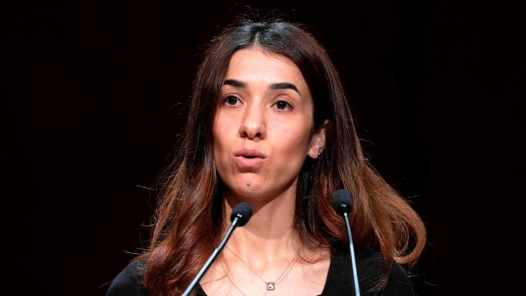 Incidents of violence and trafficking against women increased during Corona: Nadia Murad