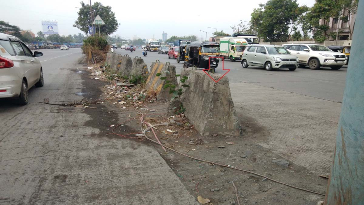 Signal of Shankara colony feasting on accidents