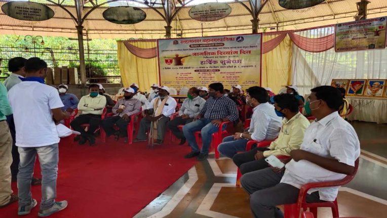 उल्हासनगर मनपा ने मनाया गया विश्व दिव्यांग दिवस