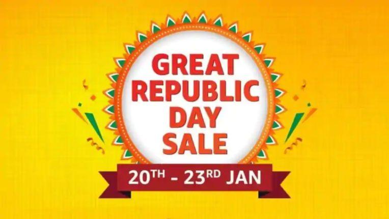 Amazon Great Republic Day सेल 20 जनवरी से होगी शुरू, कई प्रोडक्ट्स पर मिलेगा डिस्काउंट