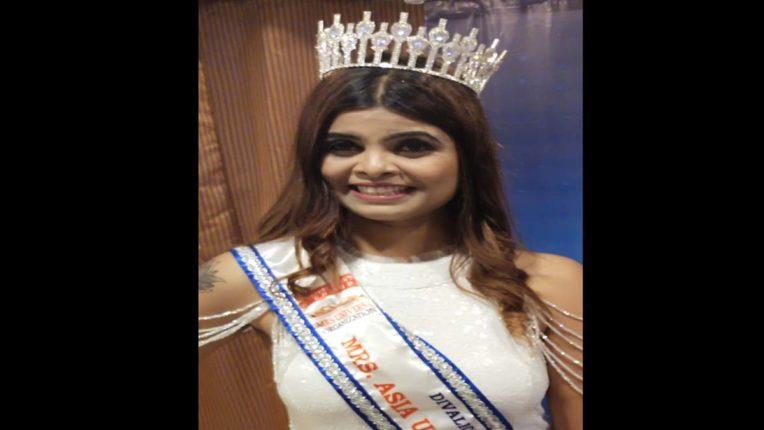 Anjali of Aurangabad became Mrs. Asia Universe