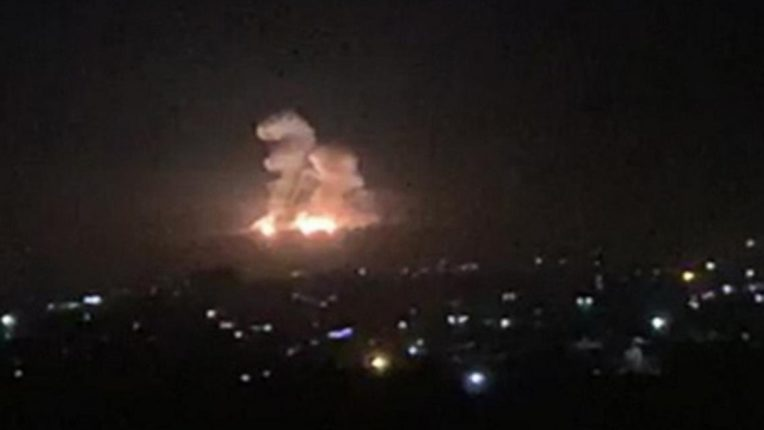 Israel attacks in Syria, dozens of people killed in Air Raid