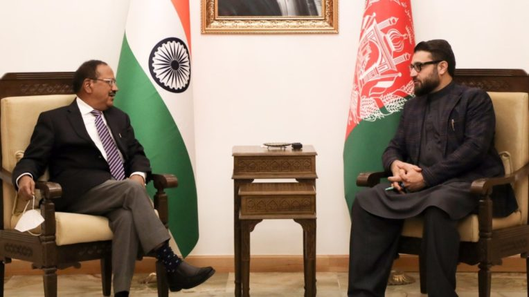 NSA Ajit Doval arrives in Afghanistan, discusses key issues including counter-terrorism cooperation with top leaders