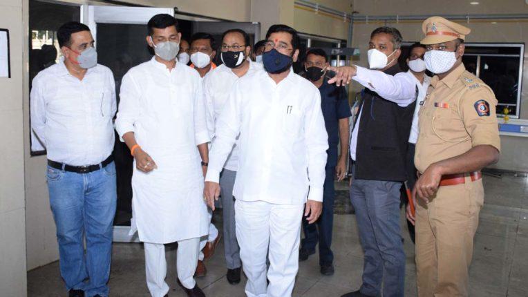 PWD Minister Eknath Shinde