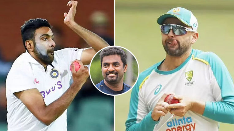 Ravichandran Ashwin-can-take-800-test-wickets-lyon-not-good-enough-Muttiah Muralitharan