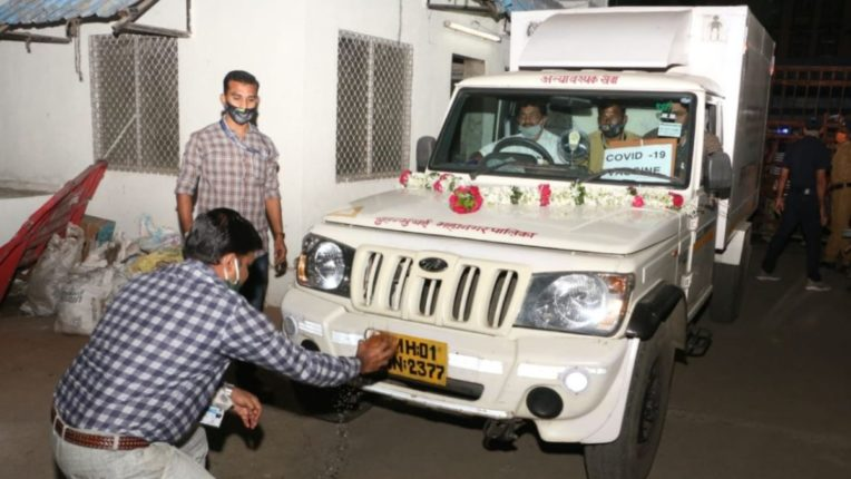 Transport of covid-19 vaccines started from Mumbai airport, 2,400 vaccines sent to Goa